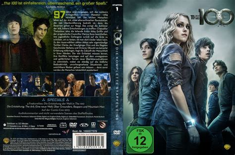 The 100 Staffel 1 dvd cover & labels (2014) R2 German Custom