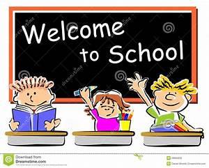 School Children Classroom stock vector. Illustration of ...