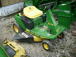 1995 John Deere Gx75 9 Hp 30 U0026quot  Mower Lawn  U0026 Garden And Commercial Mowing