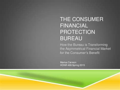 prot鑒e bureau the consumer financial protection bureau