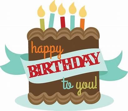 Birthday Happy Cake Transparent Clipart Anniversaire Joyeux