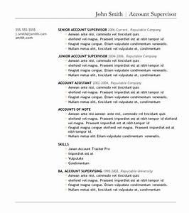 7 free resume templates With great resume templates for microsoft word