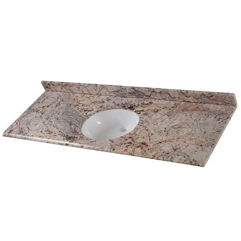 home depot bathroom sink tops home decorators collection 61 in stone effects oval