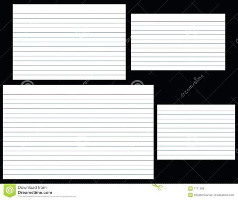template  index card template word  success resume