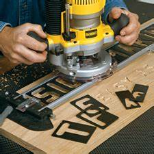 router templates router sign pro signmaking template kit With router lettering kit