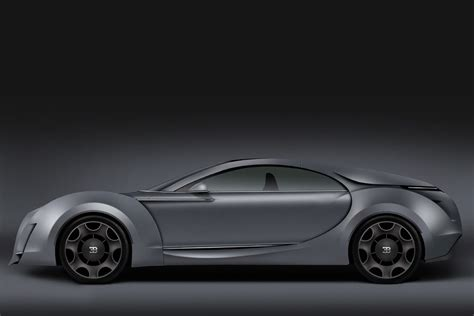 Bugatti Sedan by An Alternative Concept For A Bugatti Sedan By Dejan