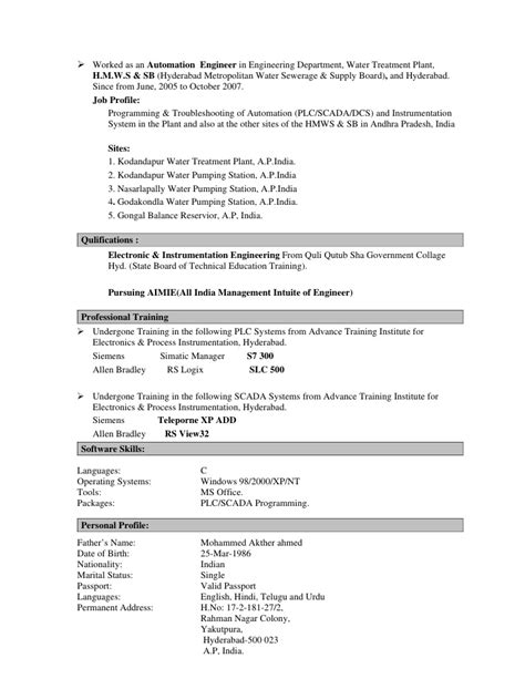 awesome siemens engineering resume images resume sles