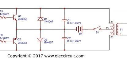 easy electronics circuit electric fish shocker circuit