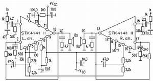 Insider  Stk4141 Amplifier Diagram