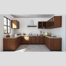 Indian Modular Kitchen Design U Shape  Youtube