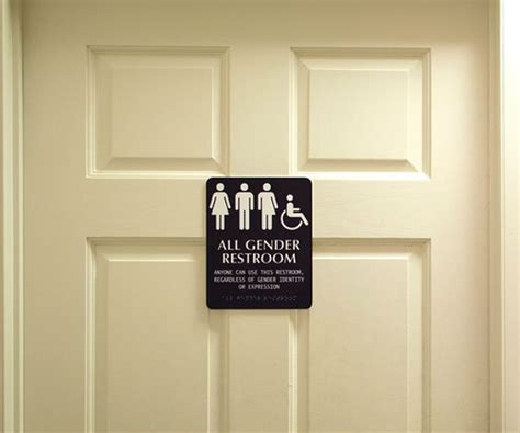 Gender Neutral Bathrooms by Harvard Readies Gender Neutral Bathrooms