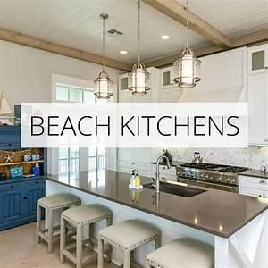 Best, Coastal, Kitchens, Get, Beach, Themed, Kitchens, Decor