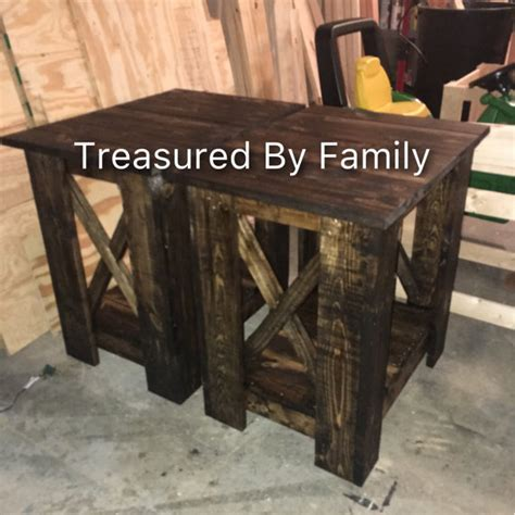 farmhouse style end tables farm house style end tables night stands in dark walnut