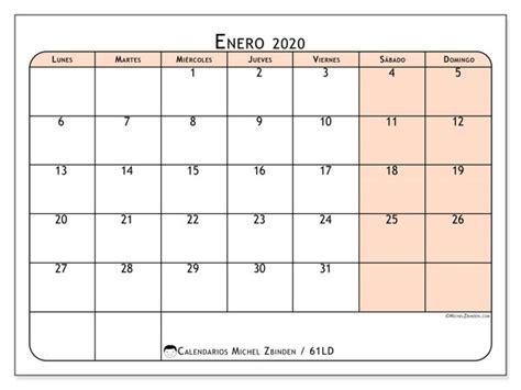 calendario enero ld michel zbinden es