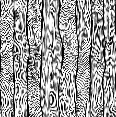 hand drawn seamless pattern of wood texture stock vector colourbox