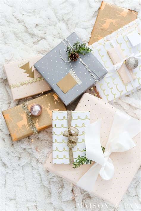 beautiful gifts the lazy s guide to beautiful gift wrap ideas maison de pax