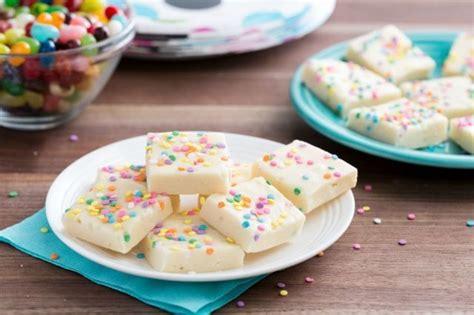 birthday cake fudge recipe chocolate heaven birthday