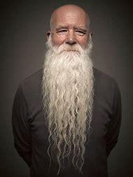 Long Man Bald with Beard