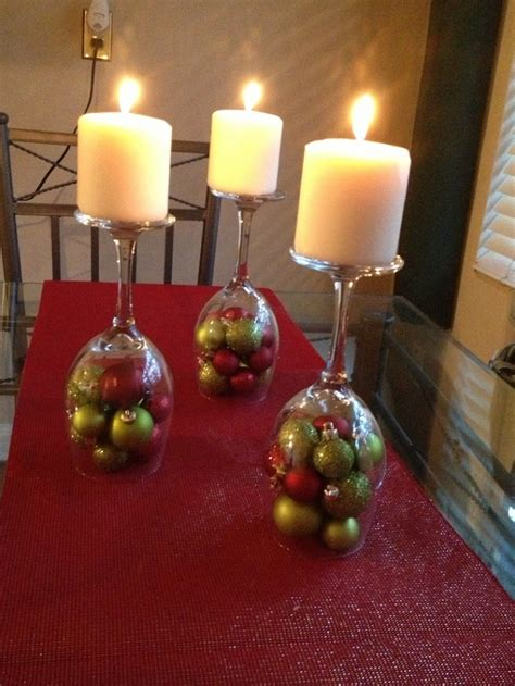 Candle Decorating With Glasses by Wine Glass Candle Decoration Easyday
