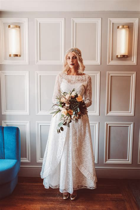 Beautiful Vintage Wedding Dresses And Bridal Fashion From