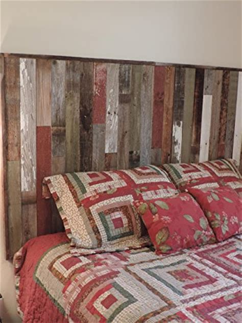 rustic twin size bed panel headboard