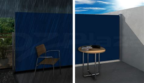 Instahut 1.8x3m Retractable Side Awning Privacy Screen