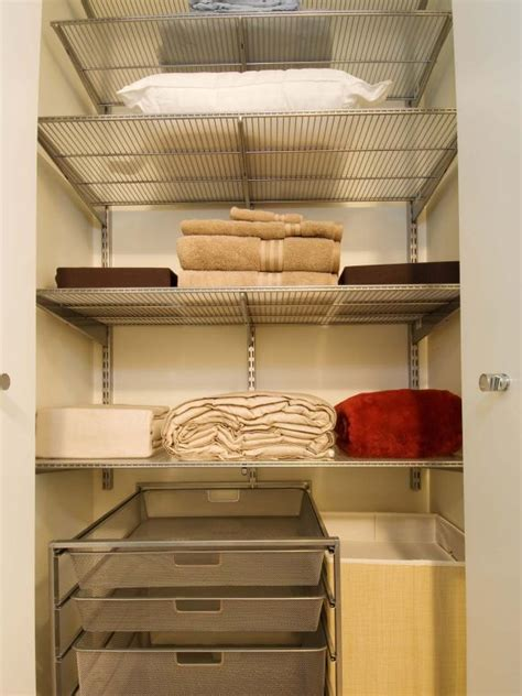 laundry room closet organization ideas organizing your linen closet hgtv
