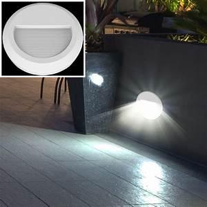 Terrassen Beleuchtung Außen : 6er set led au en wand leuchten garten treppen stufen beleuchtung terrassen balkon lampen rund ~ Sanjose-hotels-ca.com Haus und Dekorationen