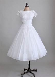 vintage 1950s white organdy wedding dress raleigh vintage With vintage white wedding dress