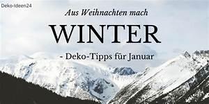 Deko Im Januar : diy do it yourself deko blog ~ Frokenaadalensverden.com Haus und Dekorationen