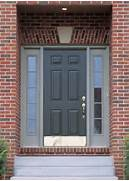Front Door Paint Colors For Brick Homes by Pictures Of Front Doors On Houses Front Doors Design Ideas With A Grey Door