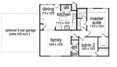 2 bedroom cottage plans not so tiny small house plans on small house
