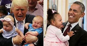 Donald Trump With Kids Vs. Barack Obama With Kids - 9GAG