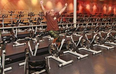 Fitness Cycling Class Spin Wheelchair Spinning Lead