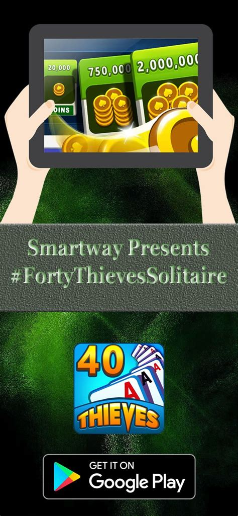 smartway games presenting forty thieves solitaire