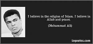Muhammad Ali: T... Muhammad Religion Quotes
