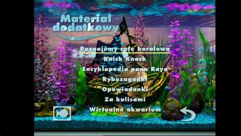 Gdzie Jest Nemo (finding Nemo) Bonus Disc 2 Dvd Menu