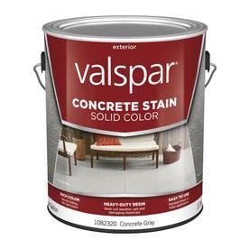 shop valspar valspar solid color concrete stain concrete