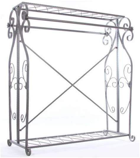 Decorative Garment Rack With Shelves by Boutique Display Garment Rack Decorative Clothing Rack