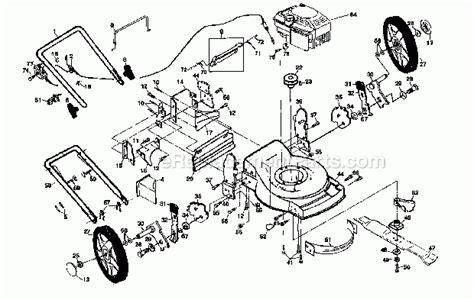 Sears Lawn Mower Parts Diagram Automotive