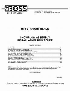Curtis Snow Plow Light Wiring Diagram