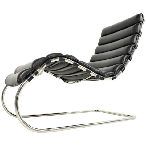 chaise der rohe mr chaise by ludwig mies der rohe knoll at 1stdibs