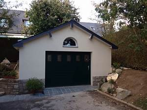 construction garage maconnerie rennes macon abris de With prix construction garage 40m2