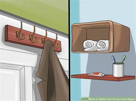 How To Make Your Bedroom Look Bigger by 3 Ways To Make Your Room Look Bigger Wikihow