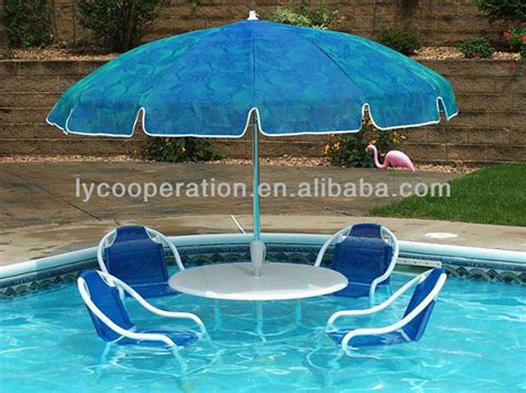 swimming inside pool umbrella water umbrella buy pool
