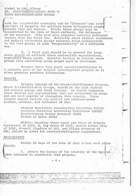 range document bureau federal bureau of investigation cointelpro range