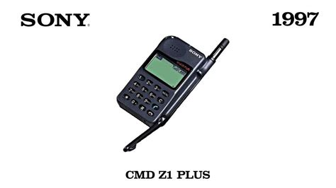 sony cell phone sony mobile phones model 1997 2001