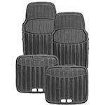 rubbermaid floor mats canadian tire rubbermaid rubber 4 pc floor mat set 24