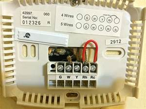 Old Honeywell Heat Only Thermostat Wiring Diagram