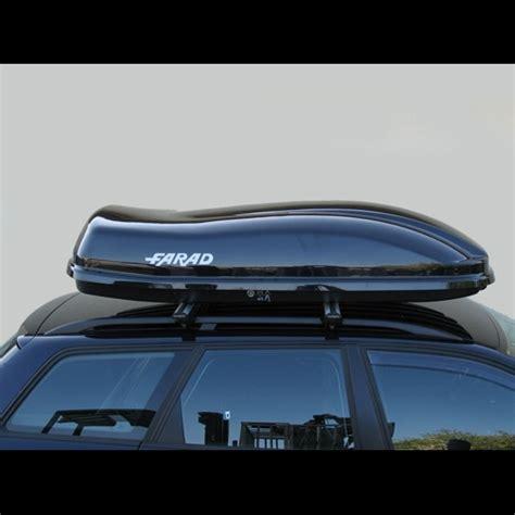 porta pacchi per auto baule portapacchi farad marlin f3 480l nero lucido